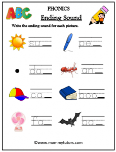 write end letter word