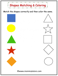 match the shapes and color