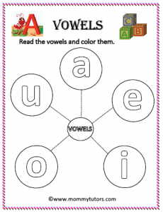 introduction to vowels